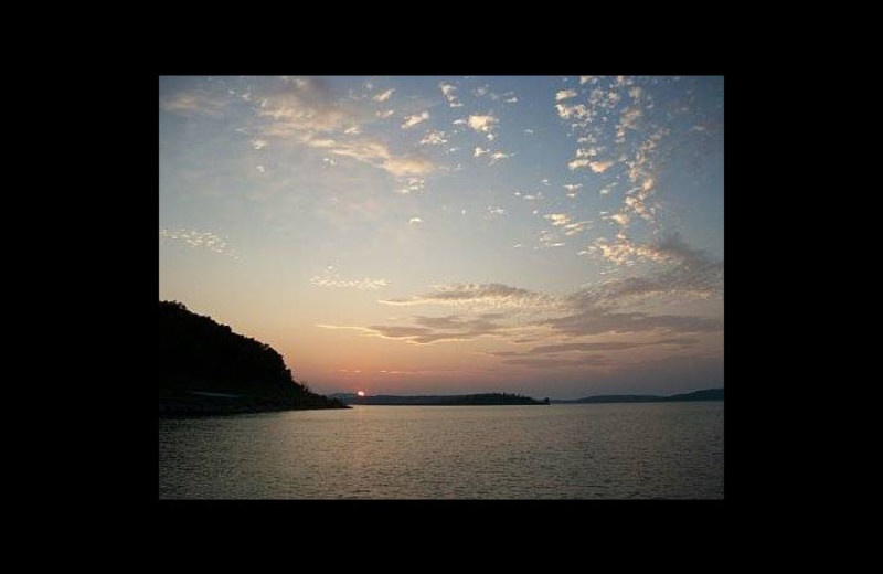 Sunrise at Driftwood Resort.