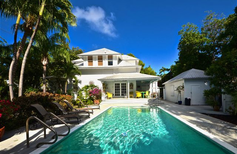 KW pool at Key West Vacation Rentals.