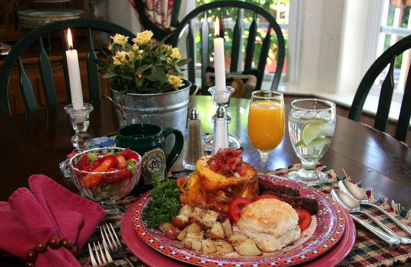 Breakfast at McCaffrey House Bed and Breakfast.