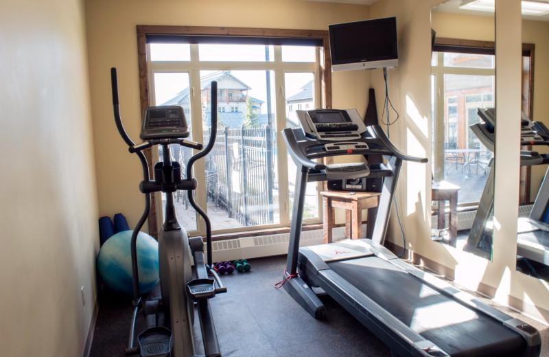 Fitness room at Northstar Mountain Village Resort.
