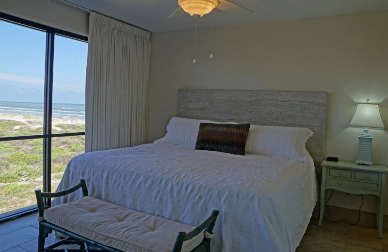 Master Bedroom at Island House Beach Front Condominiums