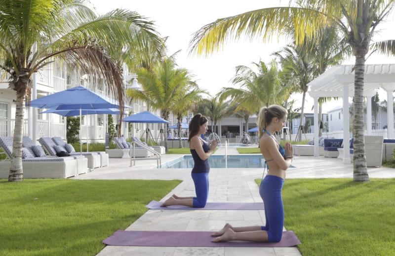 Yoga at Oceans Edge Key West Resort