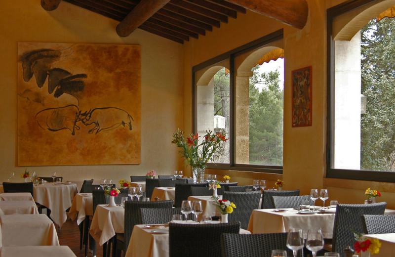 Dining at Hôtel Villa Borghèse.