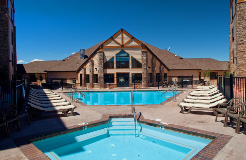 Outdoor Pool At Best Western Bryce Canyon Grand Hotel