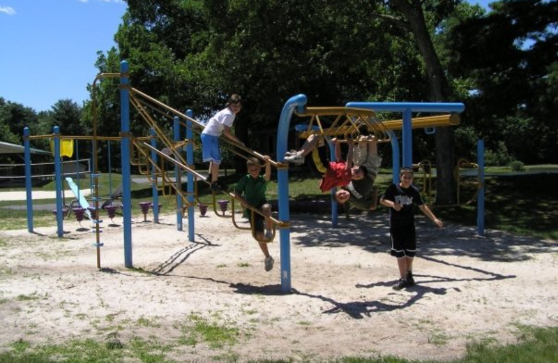 Kids Playground at Wolff's Maple Breeze Resort