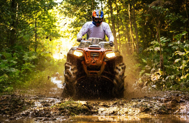 ATV near Blue Beaver Luxury Cabins.