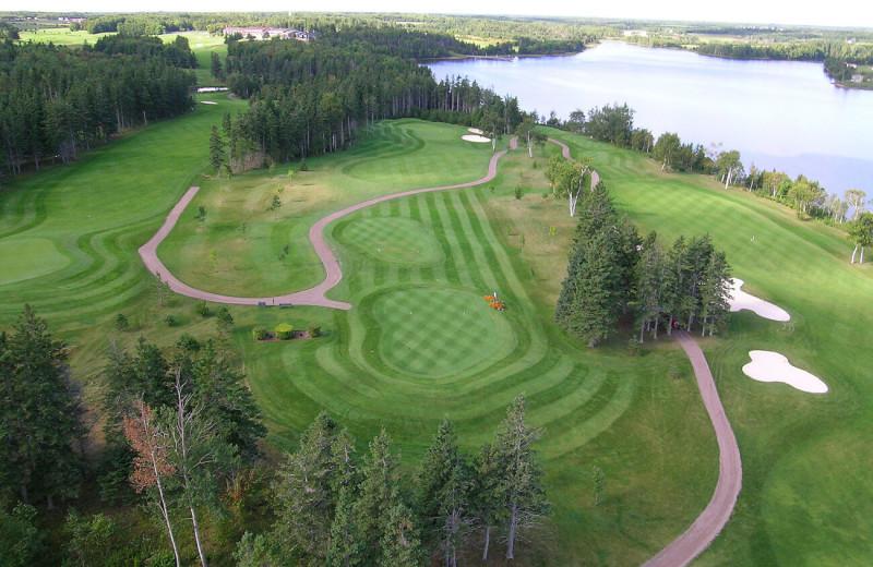 Golf course at Rodd Mill River Resort.