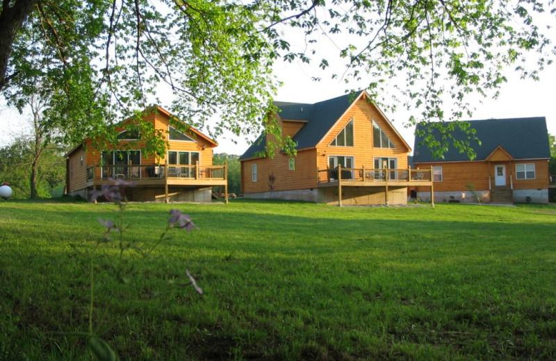 Exterior at Riverwood Resort.