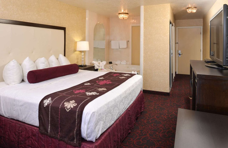Guest room at Best Western Coral Hills.