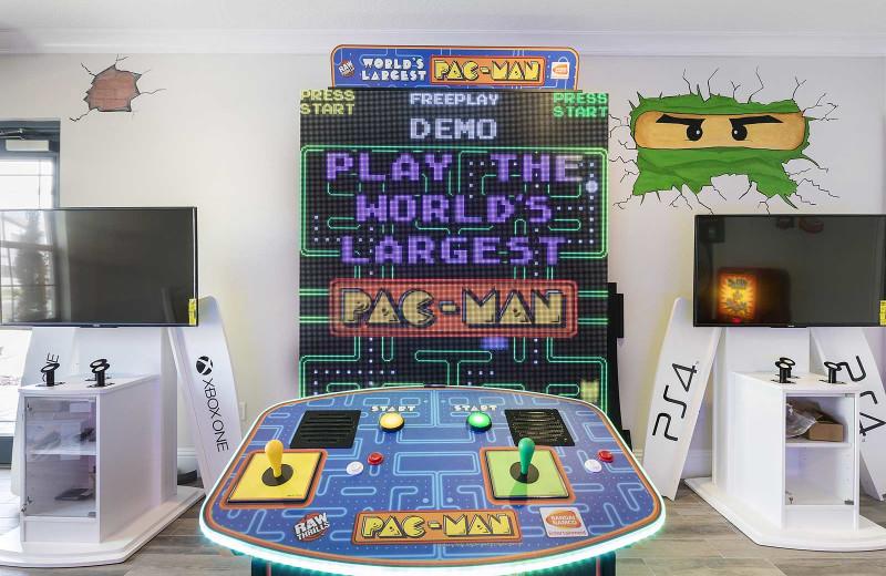 Arcade at Balmoral Resort.