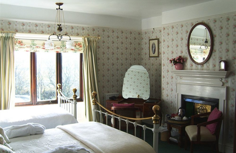 Guest room at Boscean Country Hotel.