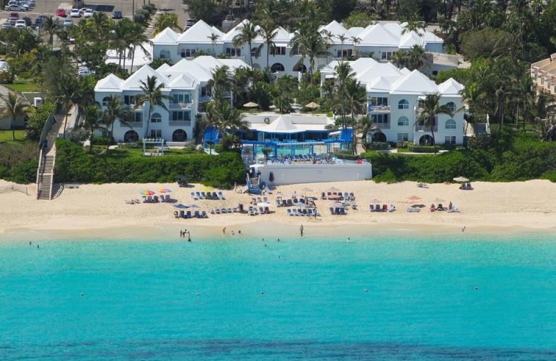 Aerial view of Paradise Island Beach Club.