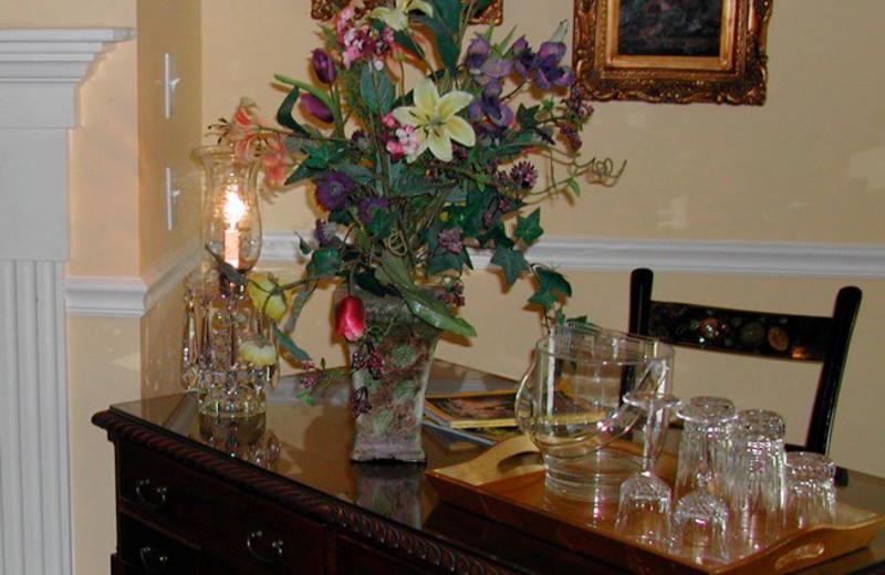 Decorations at Barnside Luxury Inn