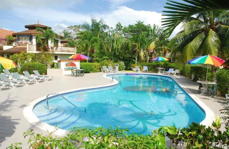 Outdoor pool at Coco La Palm.