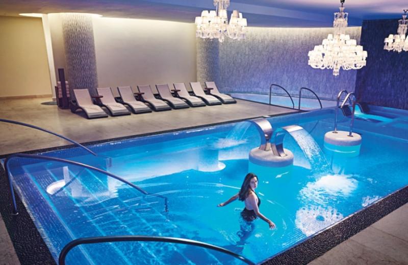 Indoor pool at Moon Palace Jamaica Grande.