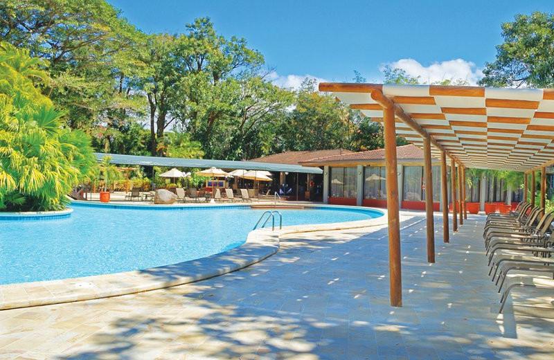 Pool View at Restaurant