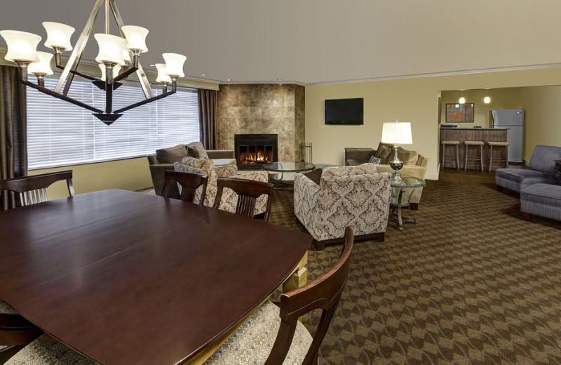 Guest suite at Algomas Water Tower Inn.