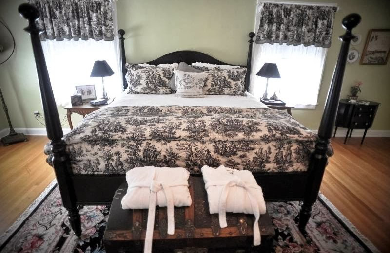 Guest room at The Lilac Inn.