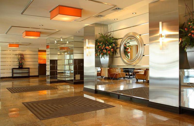 Hotel lobby at Tidan Hospitality & Real Estate Group.