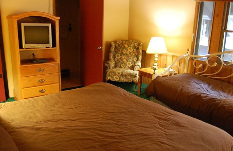 Guest room at Aspen View Lodge.