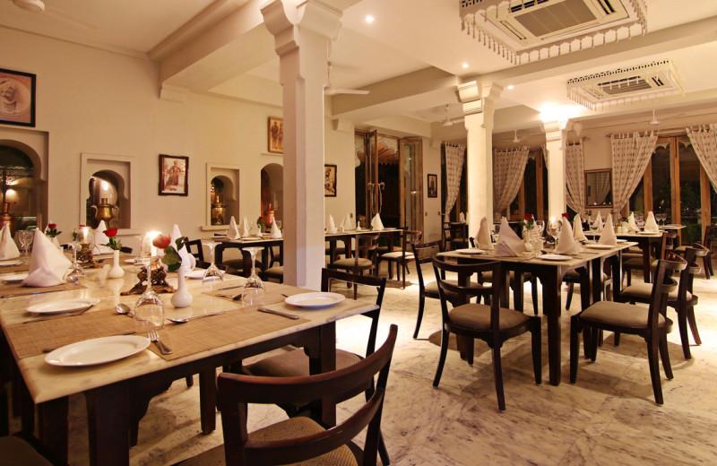 Dining at Rawla Narlai.