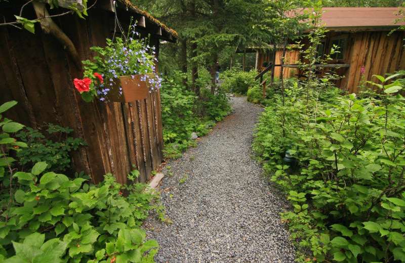 Exterior view of Kenai Riverside Lodge.