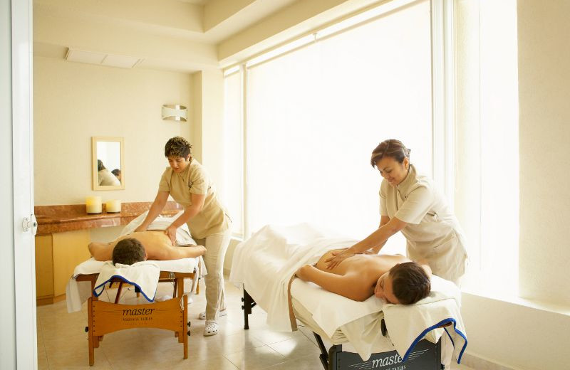 Spa Massage at Barcelo Costa Cancun