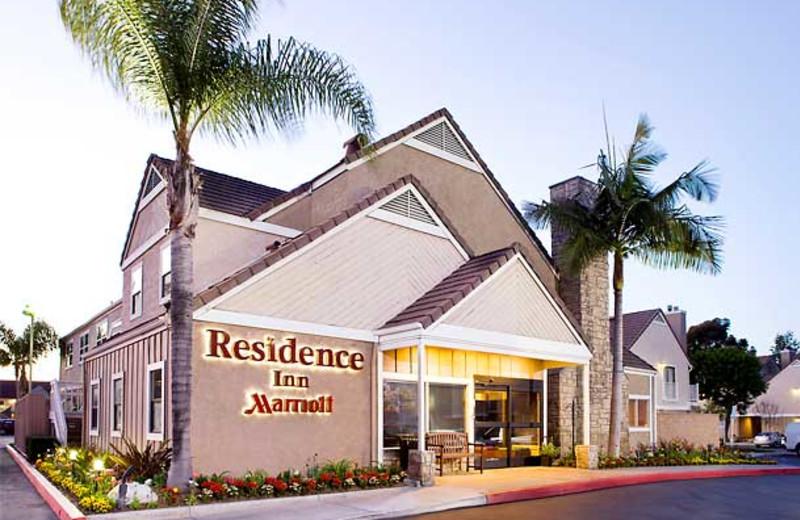 Exterior view of Residence Inn by Marriott Long Beach.