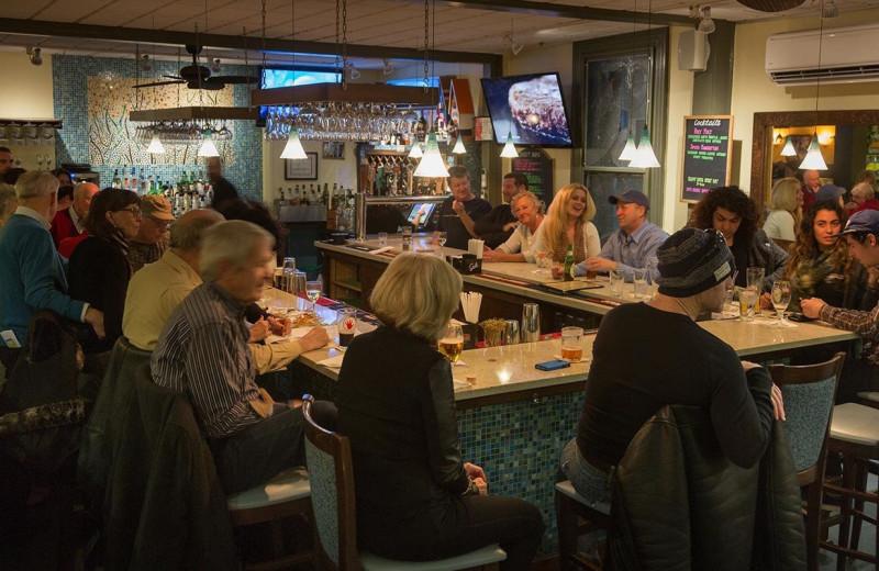 Bar at Carroll Villa.