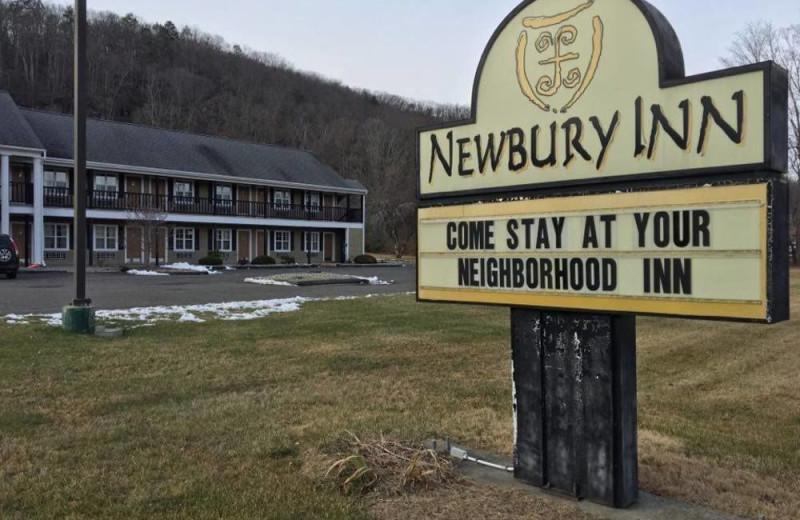 Exterior view of The Newbury Inn.