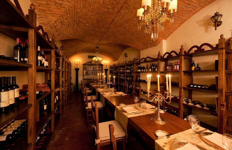 Wine and dine at Grand Hotel Baglioni.