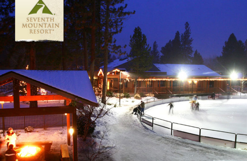 Ice Rink at Seventh Mountain Resort