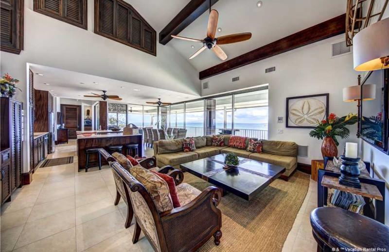 Rental interior at Vacation Rental Pros - Maui