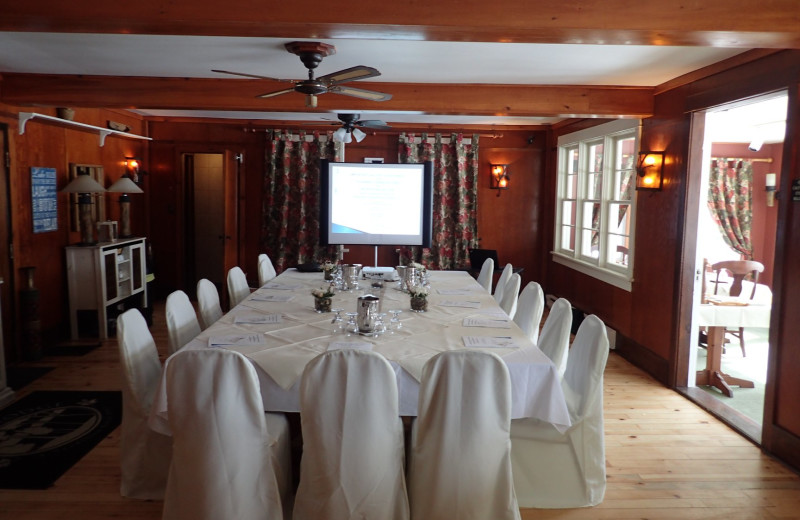 Meetings at Heather Lodge offers a very intimate setting and specialized service!