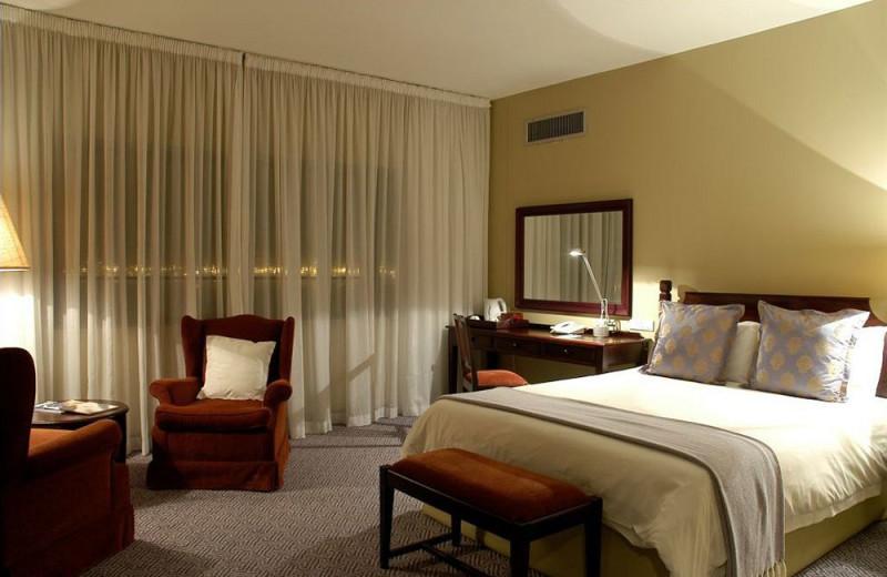 Guest room at Royal Hotel.