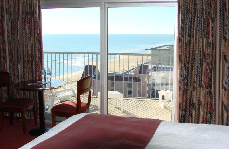 Ocean view room at Grand Hotel & Spa.