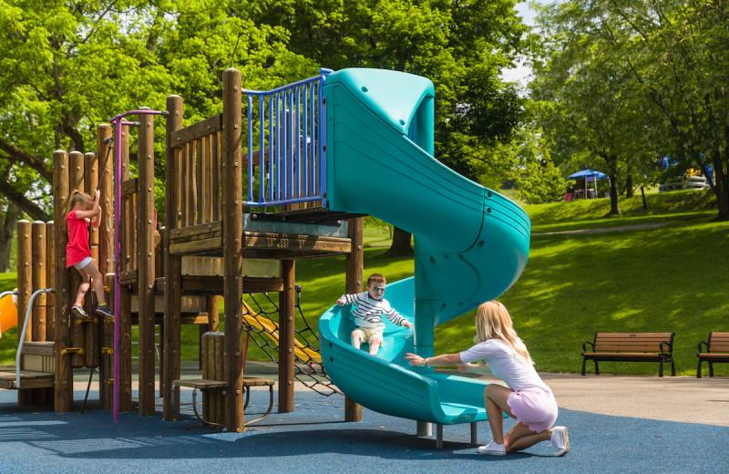 Playground at Oglebay Resort and Conference Center.