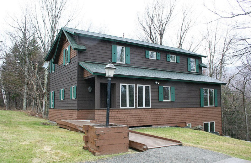 Rental exterior at Stowe Vacation Rentals & Property Management.