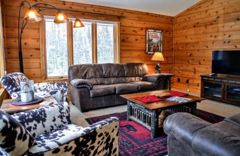 Rental interior at Lakeland Rental Management.