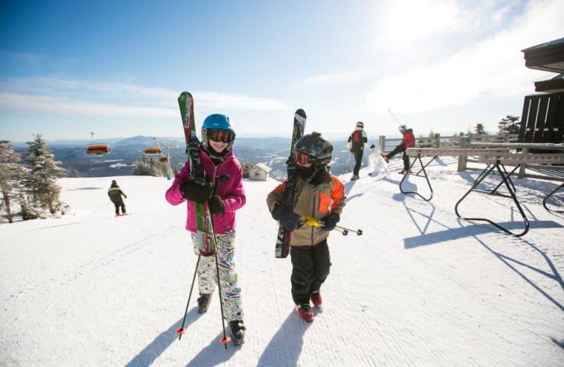 Skiing near The Red Clover Inn & Restaurant.