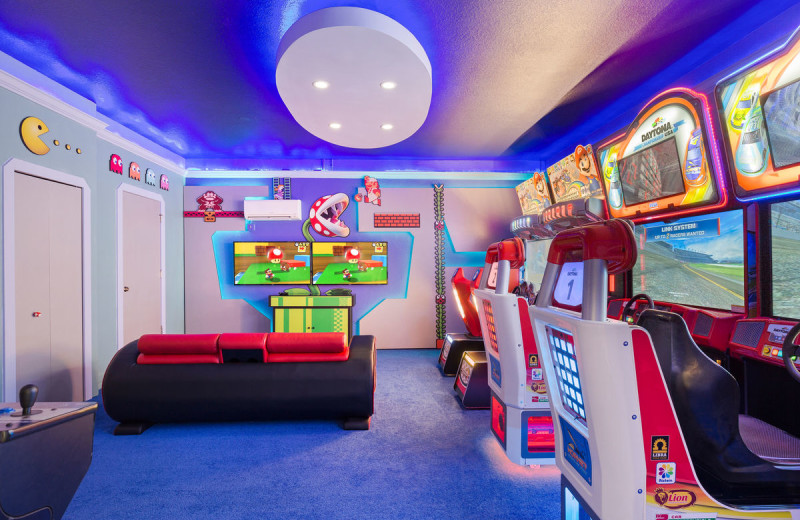 Rental arcade at Reunion Vacation Homes.