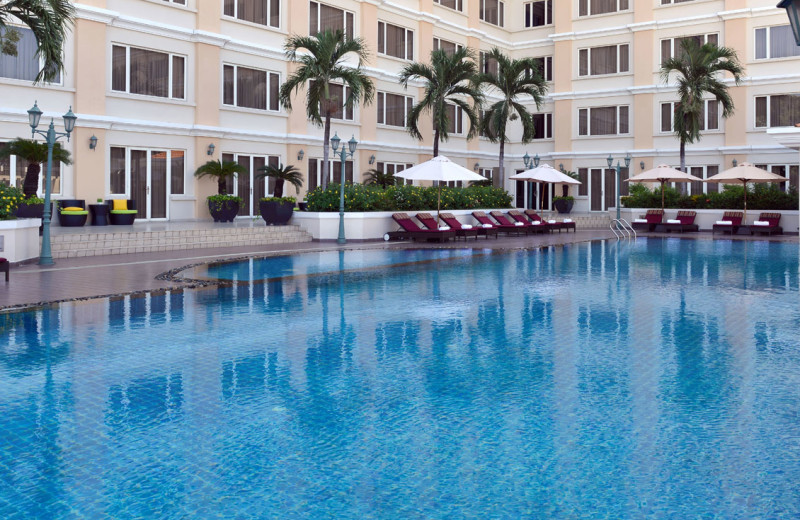 Outdoor pool at Hotel Equatorial Ho Chi Minh City.