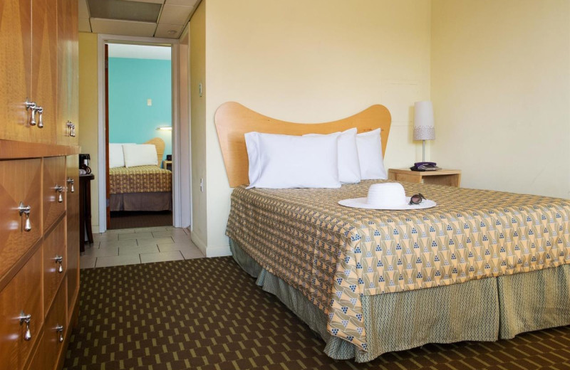 Guest room at Shalimar Resort and Conference Center.