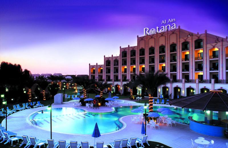 Exterior view of Al Ain Rotana Hotel.