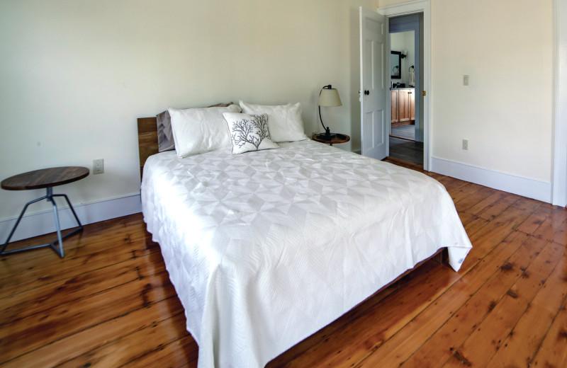 1 of 3 bedrooms in the Mott House