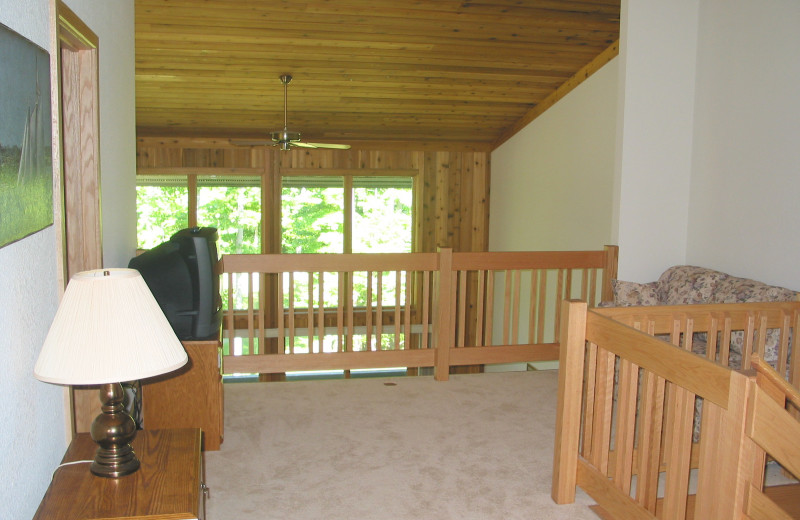 Rental loft at Hamlet Village Resort Condominiums.