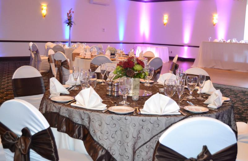 Wedding reception at Lenape Heights Golf Resort.