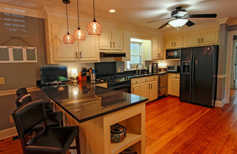 Kitchen at Forest Trail 286.