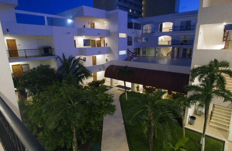 Exterior view of Ambiance Villas.