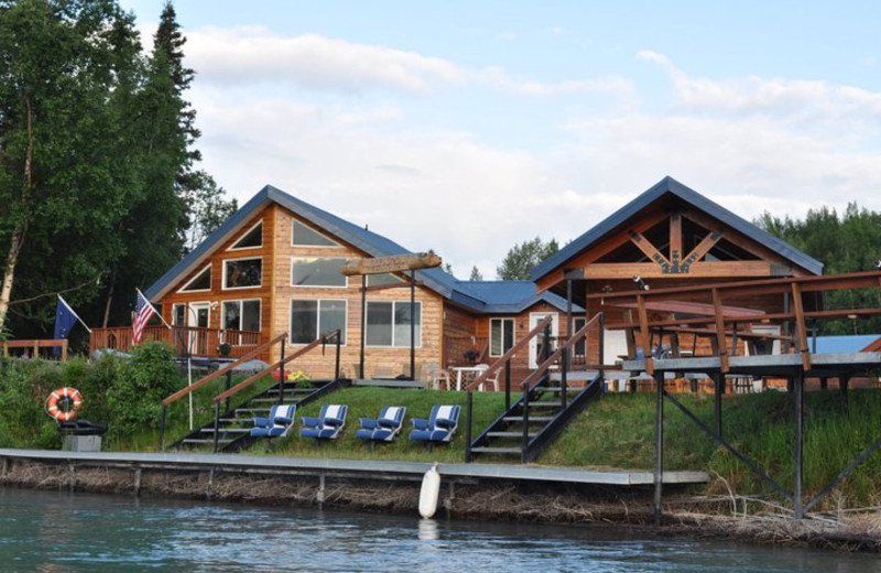 Exterior view of Marlow's On The Kenai.